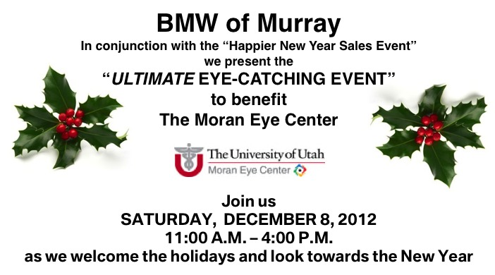 BMW-Murray Ultimate Eye-Catching Event to Benefit Moran Eye Center