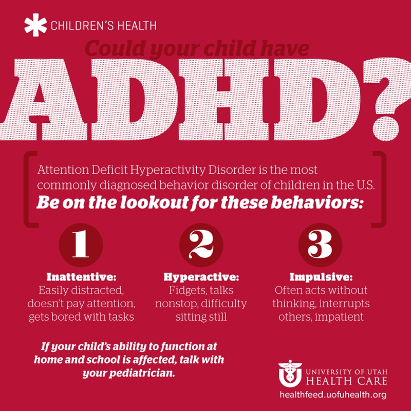 Could your child have ADHD? View these symptoms.
