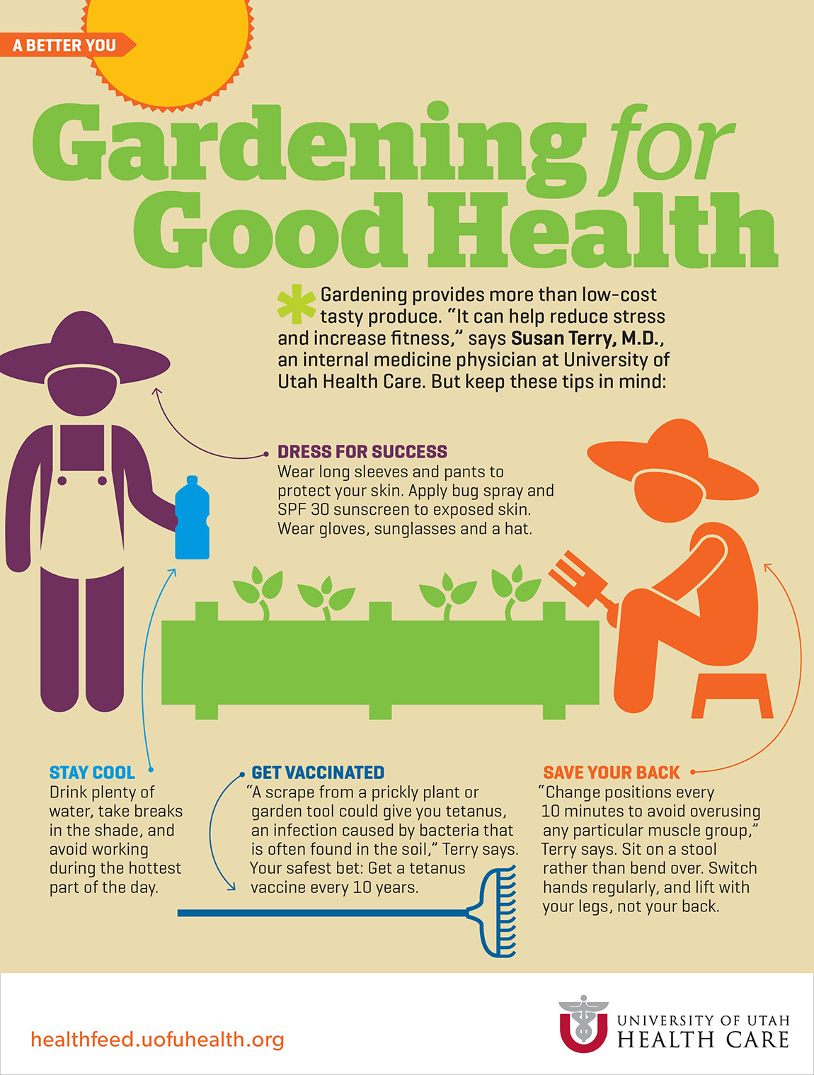 Gardening is good exercise