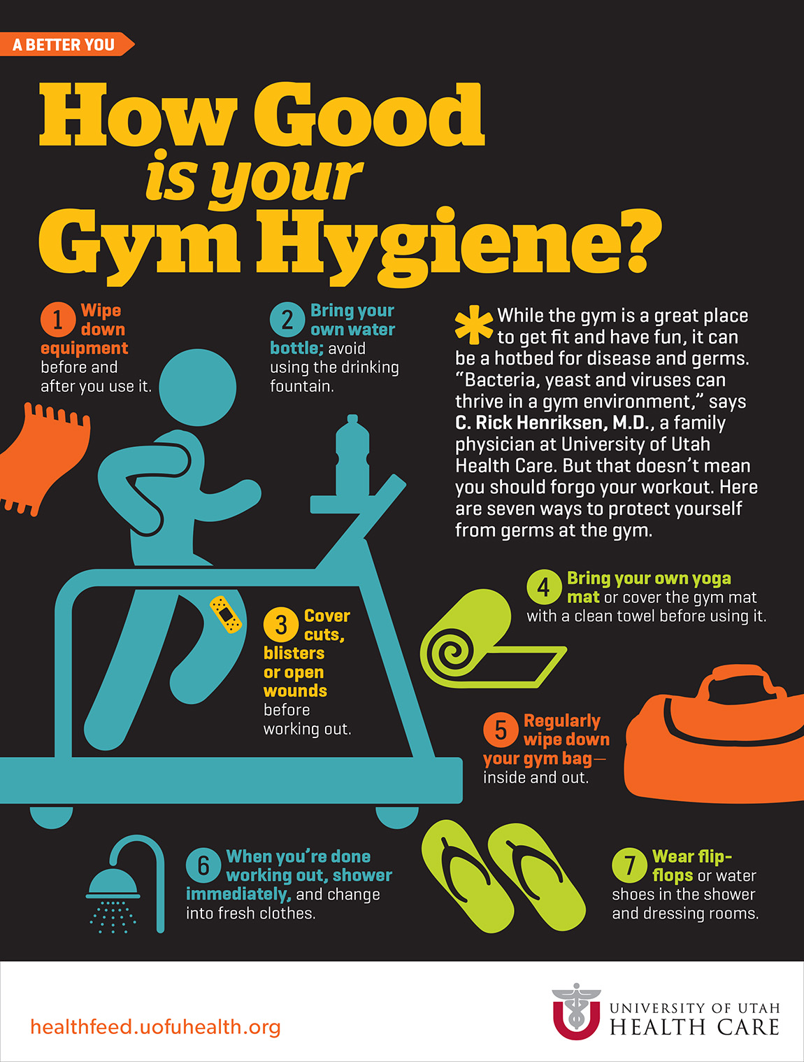 How Good Is Your Gym Hygiene University Of Utah Health