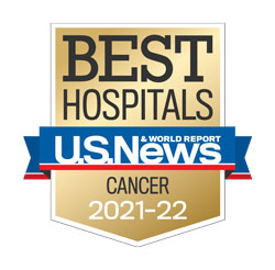 Huntsman Cancer Institute was ranked as a top U.S. hospital by U.S. News & World Report