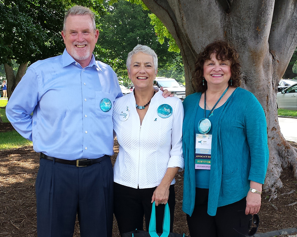 Speaking Out for Ovarian and Gynecologic Cancer Awareness Month