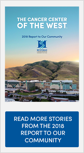 annual report cover. click to read more stories from the 2018 Report to Our Community