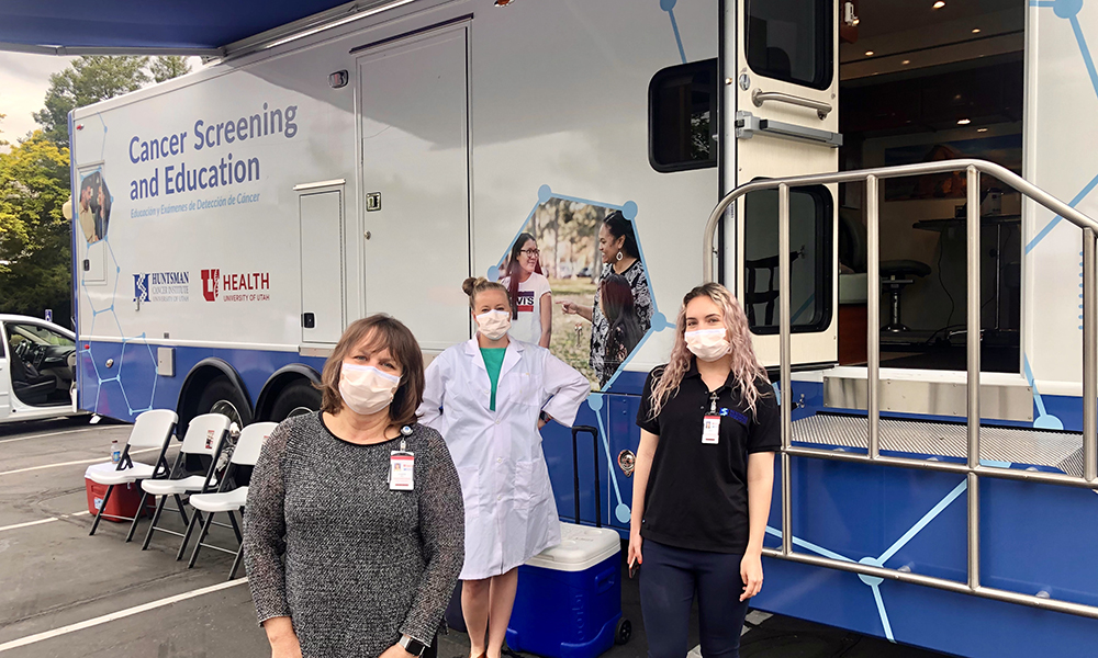 Shifting Gears: How HCI's Cancer Screening and Education Bus Helped With COVID-19 Testing
