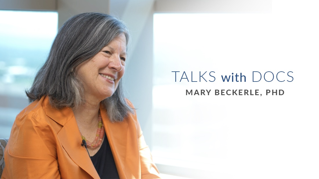 Talks with Docs: CEO and Cell Biologist Mary Beckerle