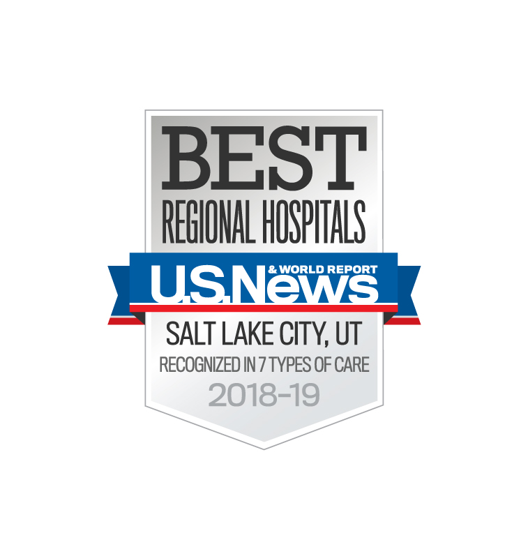 US News & World Report list of best regional hospitals, Salt Lake City for 2018-2019