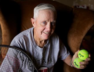 Aneurysm Patient Plays Tennis 2 Weeks After Surgery