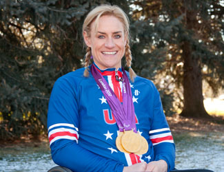 Paralympic Champion Turns to University of Utah Health for Pain Relief