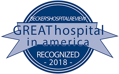 "University of Utah Hospitals & Clinics Named to the List of ""100 Great Hospitals in America"""