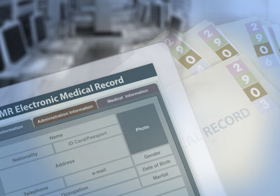 electronic health records image