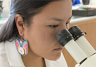 Program Nationally Recognized for Setting American Indian Students on Career Paths in Science and Medicine