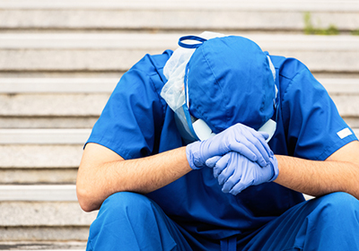 More Than Half of COVID-19 Healthcare Workers at Risk for Mental Health Problems