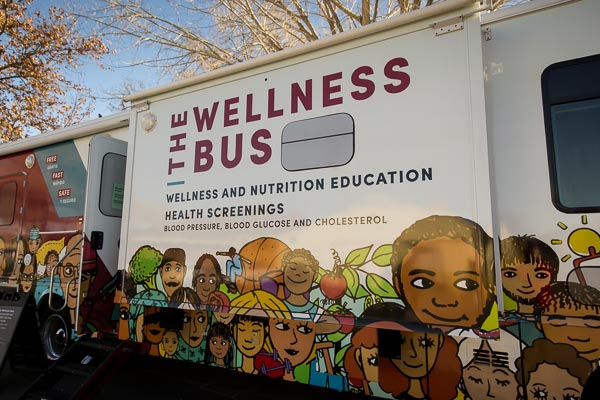 The Wellness Bus and Community Nursing Services Provide Free COVID-19 Vaccinations